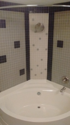 Bath Tub Surround in custom Pattern