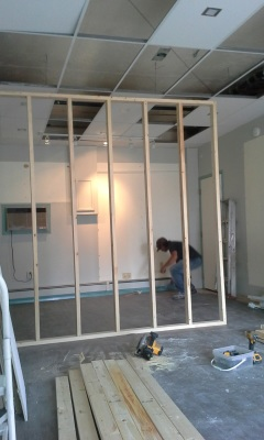 Framing Office Boardroom